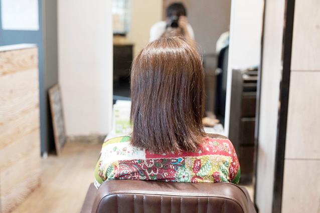 DRANの髪質改善なら、あなたの『なりたい』を叶えます|BEFORE 施術前