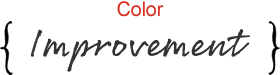 髪質改善カラー施術
