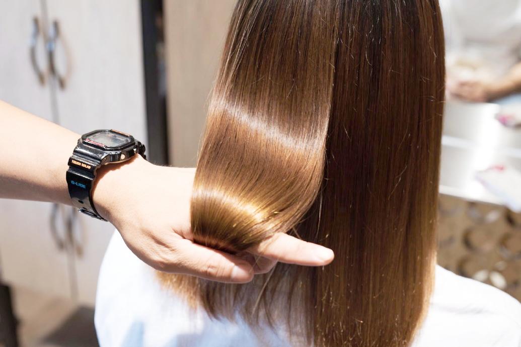 DRANでの髪質改善の工程