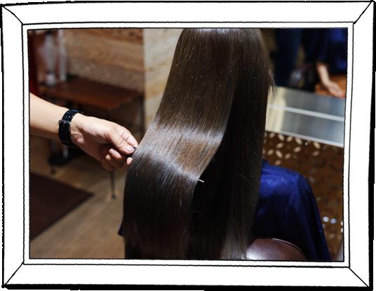 髪質改善トリートメントカット|毛髪に悩みにお応えする。DRANの髪質改善トリートメントカット