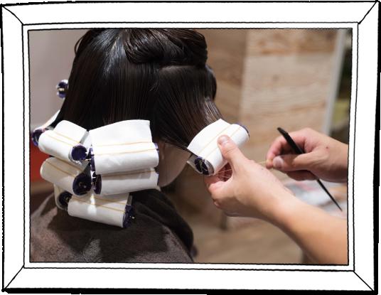 髪質改善パーマ|髪質改善パーマは毛先までプルプルツヤツヤ。パーマの弾力を感じれる柔らかな質感を最小限のダメージで実現。