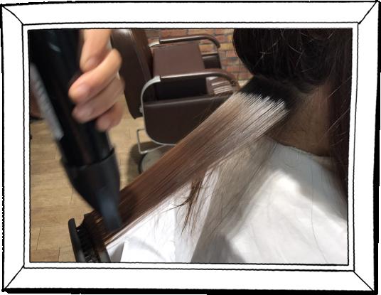 髪質改善矯正|どんな強固なクセ毛でも一回の施術で美しいストレート髪に変貌させます。