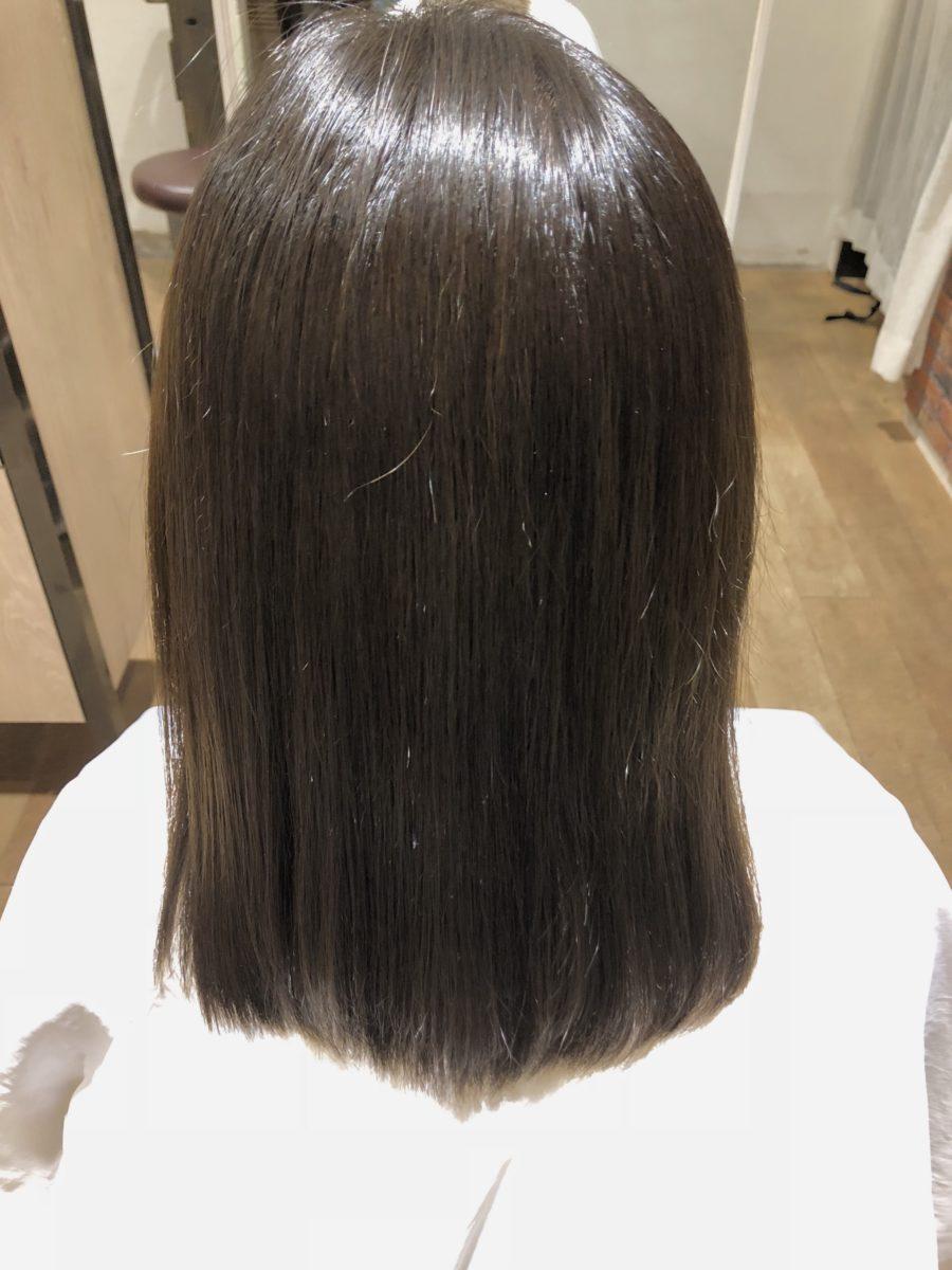 髪質改善カラーafter