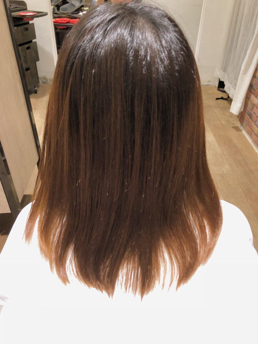 髪質改善カラーBefore