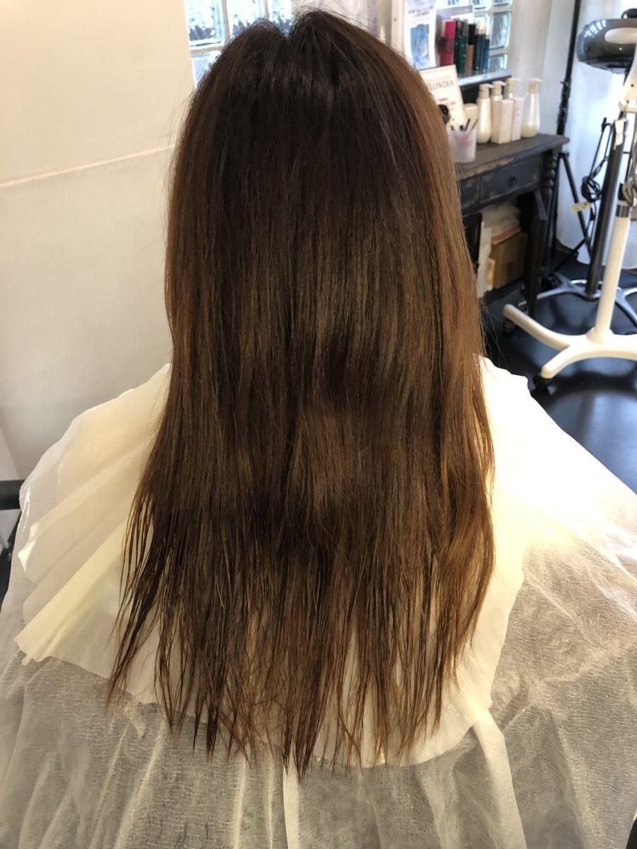髪質改善カラーBefore &After本日のお客様は2回目の髪質改善カラーでパサつきを改善!