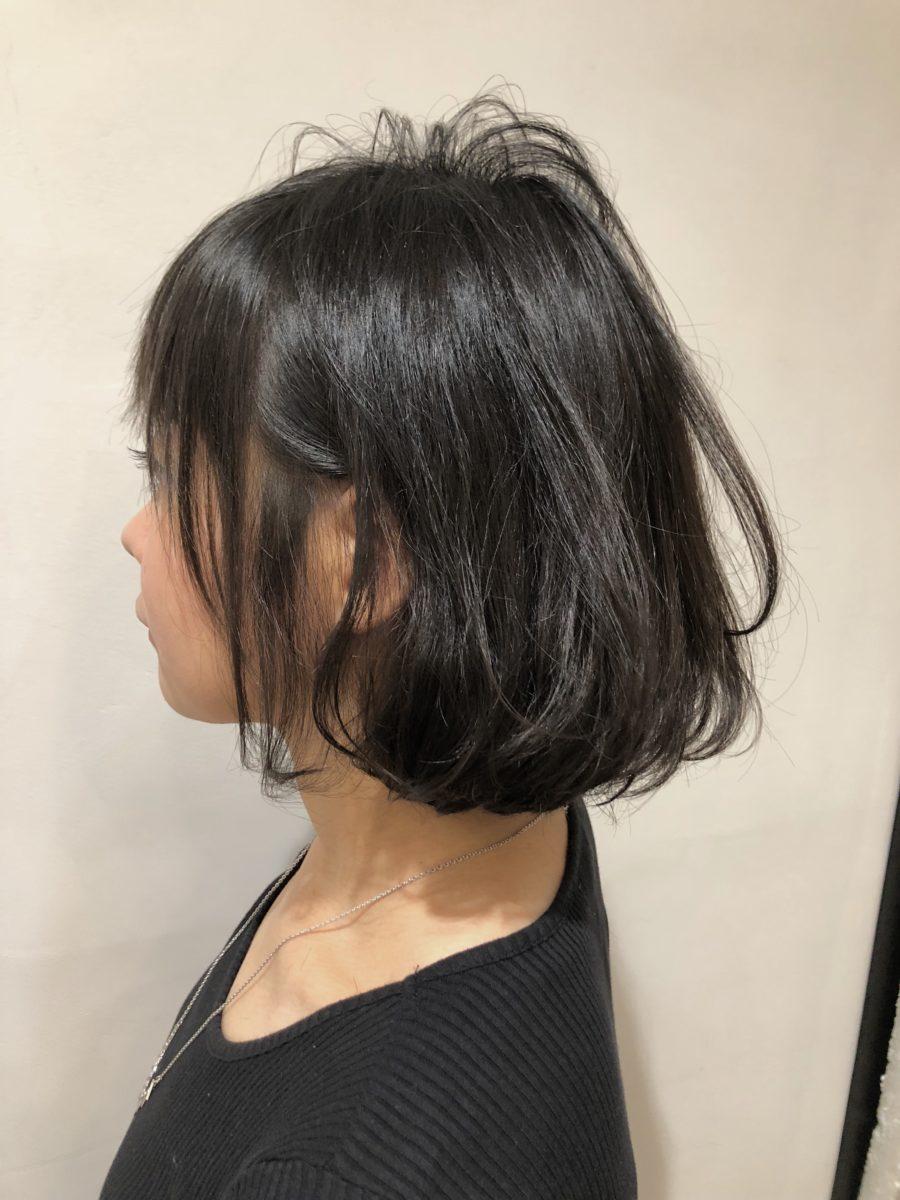 クセ毛で髪が多い人必見!!髪質改善でスッキリまとまる髪に!