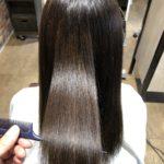 髪が広がってまとまりにくい人必見!!髪質改善トリートメントBefore & After