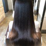 髪のツヤを引き出す髪質改善!!本日のBefore & After