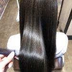 パサつく広がる髪を髪質改善カラー!!Before & After