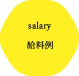 スタイリストの給料例