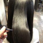 髪がパサパサしてうねる髪を髪質改善!!Before & After