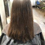 梅雨の湿気に負けない髪質作り!!Before & After